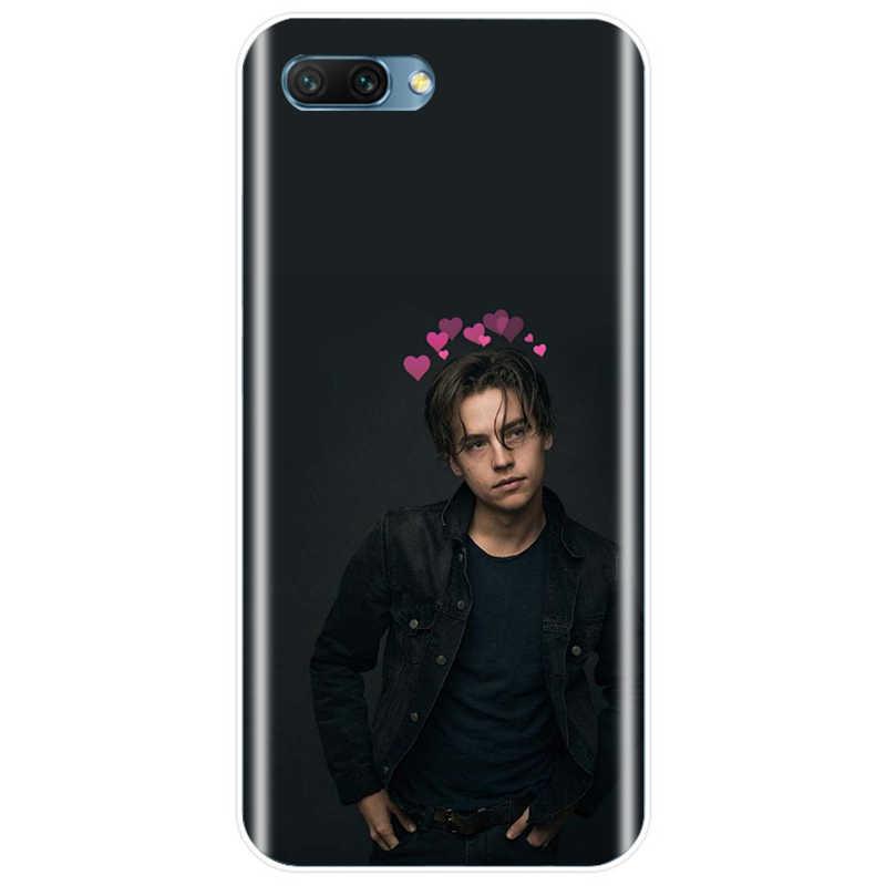 Riverdale Cole Sprouse Jughead Jones Cover Lembut TPU Silikon Phone Case untuk HUAWEI Mate 7 8 9 10 20 Pro honor 8 V8 8C 9 V9 8PRO 10 V10 NOTE10 Lite