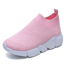 New women shoes fly woven breathable mesh socks lightweight comfortable soft bottom anti-wear