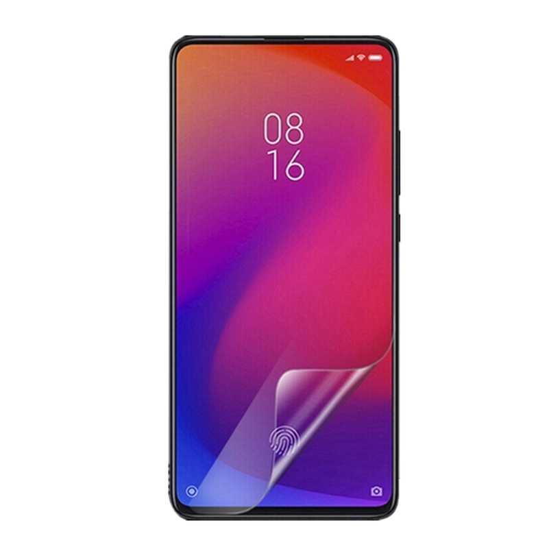 4 stücke Klar Weichen Kunststoff glänzend screen protector Schutz Film Für Xiaomi Redmi 7 7A 6 6A 5 Plus 5A hinweis 6 7 8 Pro