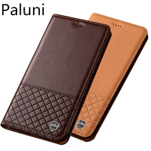 цена на Genuine leather magnetic holder phone case for HTC One X10/HTC One X9/HTC One A9 flip phone case bag standing leather back cover