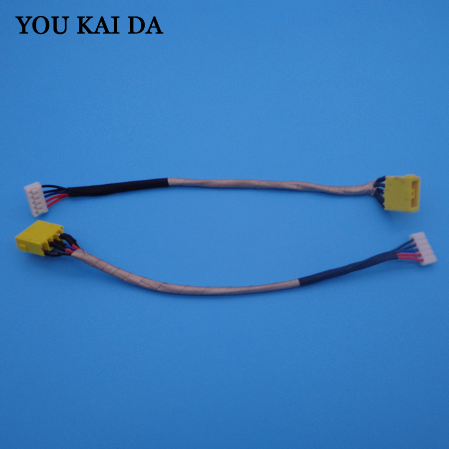 NEW LAPTOP DC POWER JACK CABLE CHARGING SOCKET CONNECTOR PORT WIRE HARNESS FOR LENOVO G700 Z710 G710 G700-5939