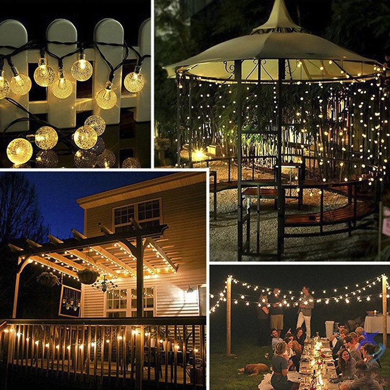 lowest price LED Outdoor Solar Lamp String Lights 100 200 LEDs Fairy Holiday Christmas Party Garland Solar Garden Waterproof 10m