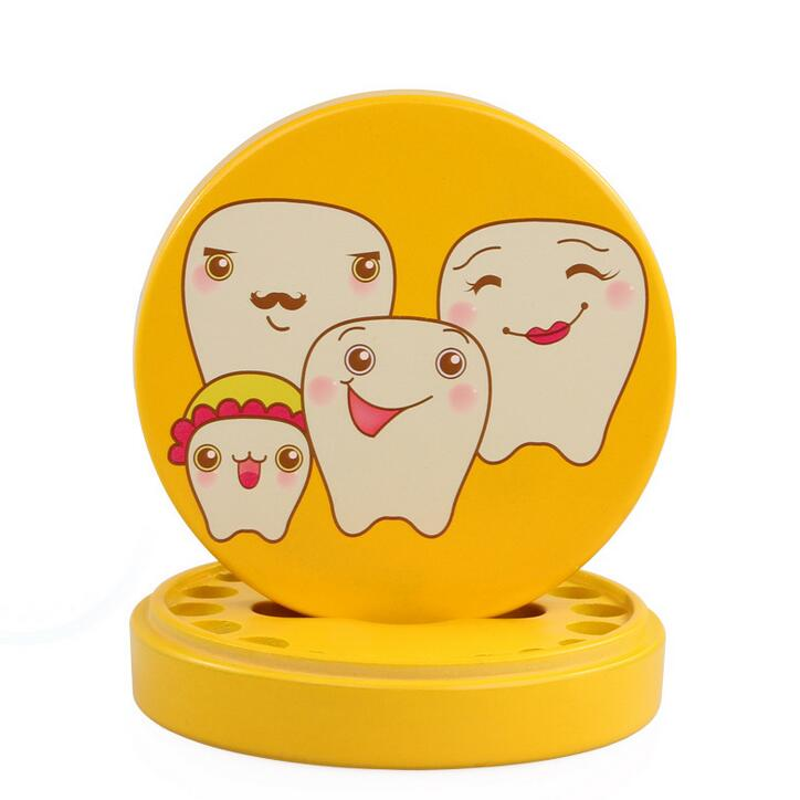 Baby Teeth Box Wooden Tooth Box Baby Tooth Organizer Kids Deciduous Storage Collect Box Container