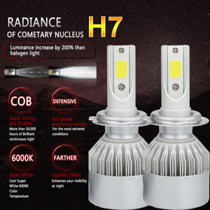 NITHTEYE Car LED Light Bulbs 6