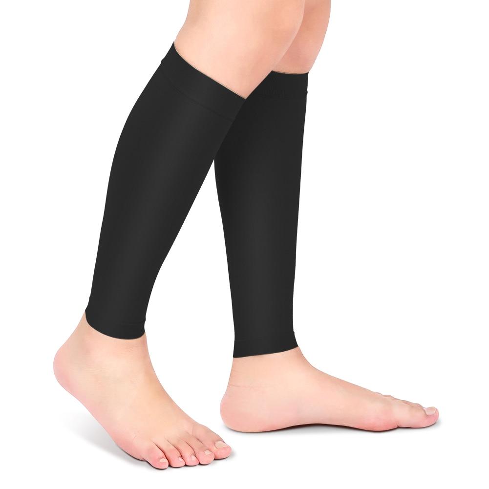 XXL/XXXL Elastic Relieve Leg Calf Sleeve Varicose Vein Circulation Compression Stocking Care Leg Venous anti-curved calf socks