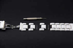 Image 3 - יוקרה קרמיקה להקת רצועת לסמסונג גלקסי פעיל 46/42 שעון עבור Amazfit קצב/סטרטוס 2/ביפ חכם שעון רצועת קרמיקה