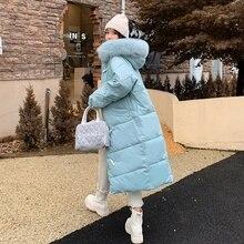 2021 new long winter jacket women