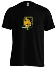 Metal Gear Solid Mgs Foxhound Special Forces Logo Gaming Gamer Game T-shirt Tee(China)