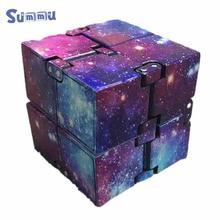 Творческие Бесконечный куб игрушки снятия стресса и тревоги для детей и взрослых магия избавления от аутизма игрушки отдыха игрушки