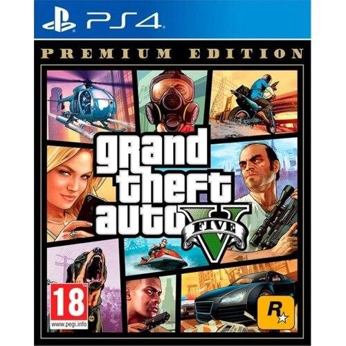 GTA 5 Premium Edition PS4 Game
