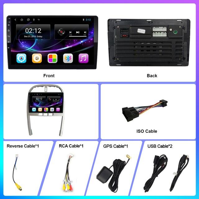 OKNAVI Android 9.0 IPS 2.5D Screen For Chery Tiggo 3 2009-2013 Multimedia Stereo Car  Player GPS Navigation 2 din radio no dvd