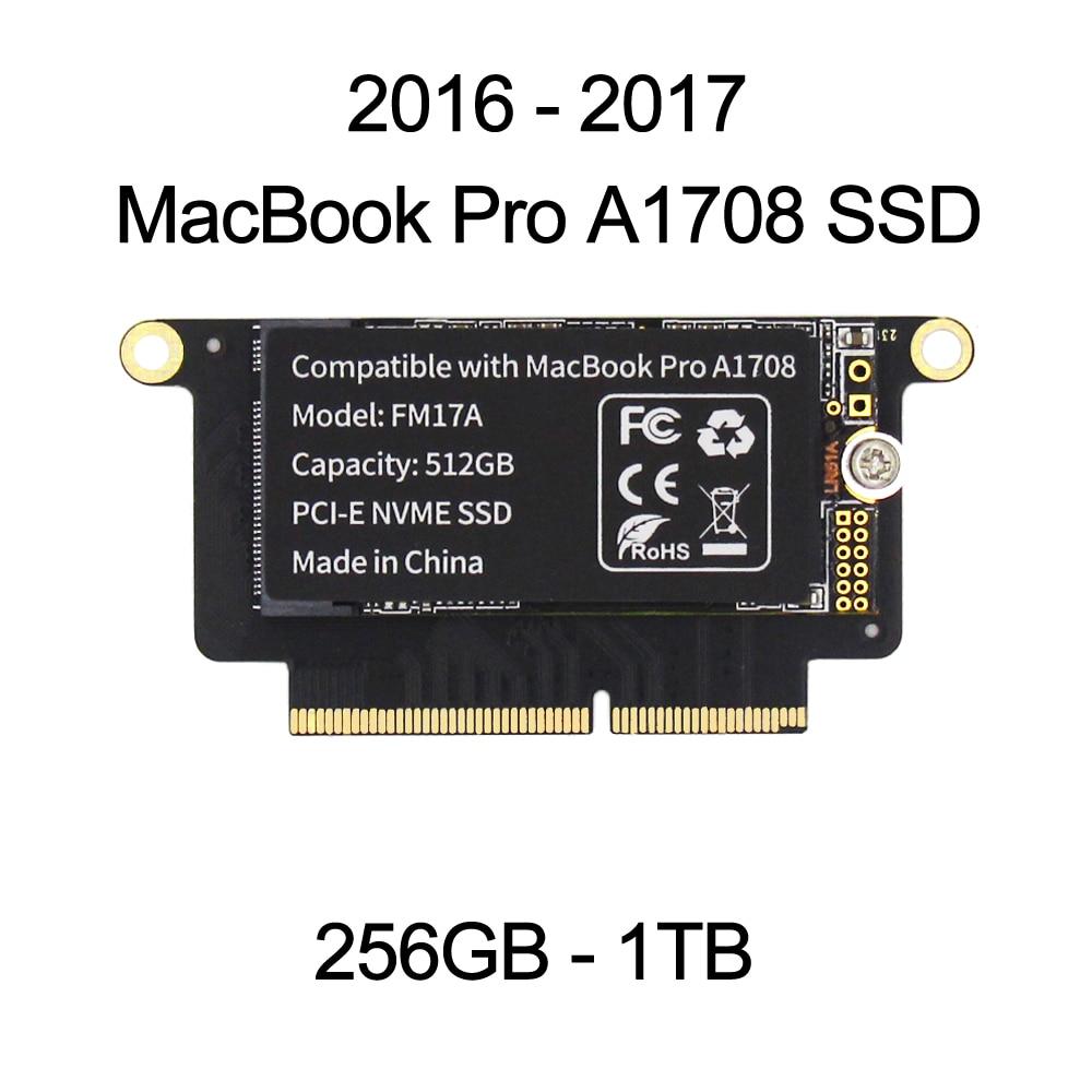 SELLTOONE 256 ГБ 512 ГБ 1 ТБ SSD для 2016 2017 MacBook Pro Retina A1708 HD твердотельный диск EMC3164 EMC 2978 обновление большой емкости