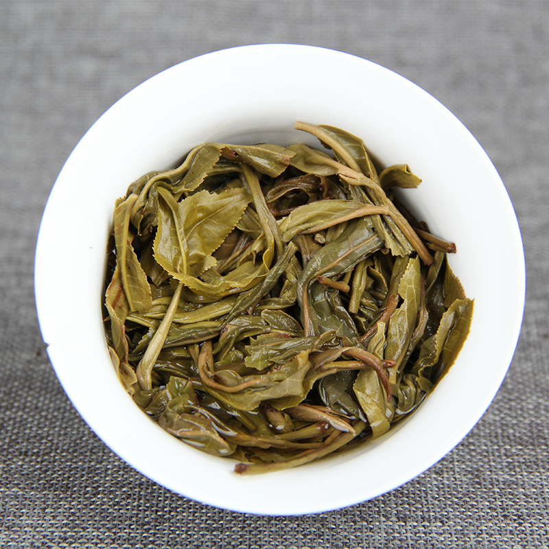 China Yunnan Raw Tea 2017 Spring Ancient Tea Pu'er Green Food for Health Care Lose Weight 5