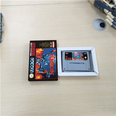 Super Turrican 2   EUR Version Action Game Card with Retail Box