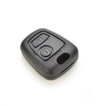 2 Buttons Remote Key Fob Shell Cover Case for Peugeot 106 107 206 207 307 406 image