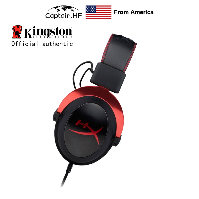 US Captain Hyper X Cloud II Gaming Headset For Laptop And PC