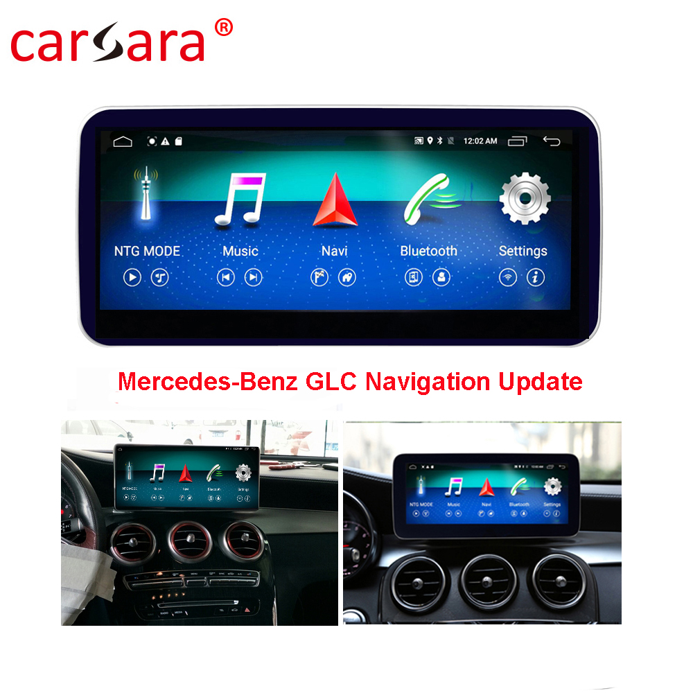Merce des GLC W205 V Class <font><b>W447</b></font> X Class Screen Upgrage 10.25 <font><b>Android</b></font> Multimedia Navigation Monitor DVD Player Facelift image