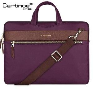 Image 1 - Laptop Bag 13.3 Inch For Macbook Pro 13 Bag Women Laptop Sleeve For Macbook Air 11/13 Notebook Bag with Removable Shoulder Strap