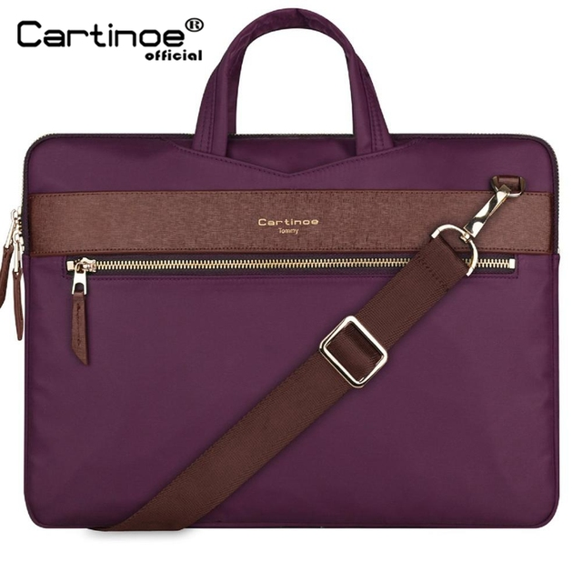 Laptop Bag 13.3 Inch For Macbook Pro 13 Bag Women Laptop Sleeve For Macbook Air 11/13 Notebook Bag with Removable Shoulder Strap