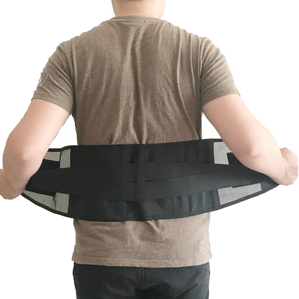 Пояс для тренировки талии и потери веса, триммер для ежедневного ношения, тренировочный пояс для снятия боли в спине, тяжелая подтяжка, с дву...