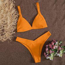 Maillot de bain deux pièces pour femmes, imprimé, culotte, ensemble Bikini, Style marin, nouvelle collection, 2021
