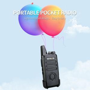 Image 3 - RETEVIS Walkie Talkie RT22S, 2 uds. Retevis RT22S, estación de Radio bidireccional portátil, VOX, carga USB, pantalla oculta para viajes de senderismo