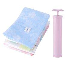 11 шт Antidust утолщенная двойная молния уплотнение многоразовые компрессионные вакуумные компрессионные сумки для хранения стеганых одеял с ручным насосом