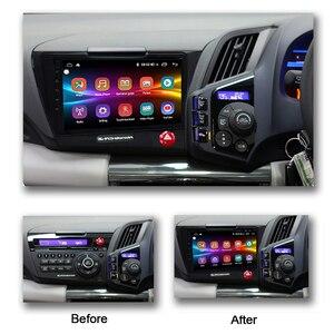 Image 2 - 혼다 Cr Z/Crz Rhd 중앙 Multimidia 비디오 안드로이드 자동차 라디오 화면에 대한 COHO 안드로이드 10.0 Octa 코어 6 + 128G