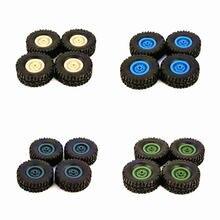 4 шт резиновые обод колеса шины для rc 1/16 восхождение на гусеничном
