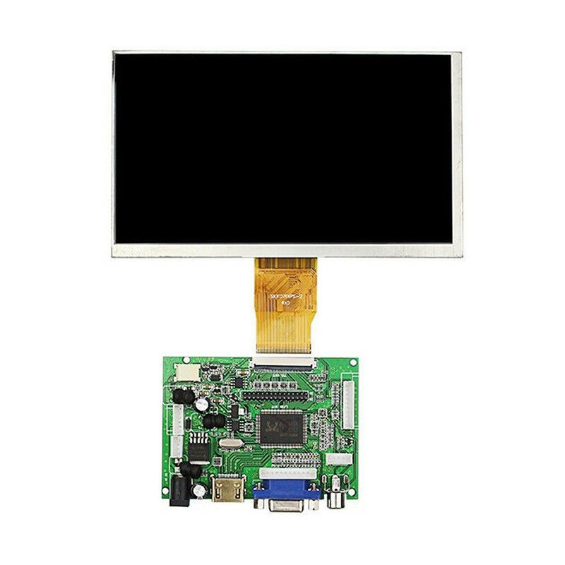 Raspberry PI 3/B + Spezielle 7 Zoll TFT LCD Digital Display Kit HDMI + VGA + 2AV Mit touch Panel 1024*600