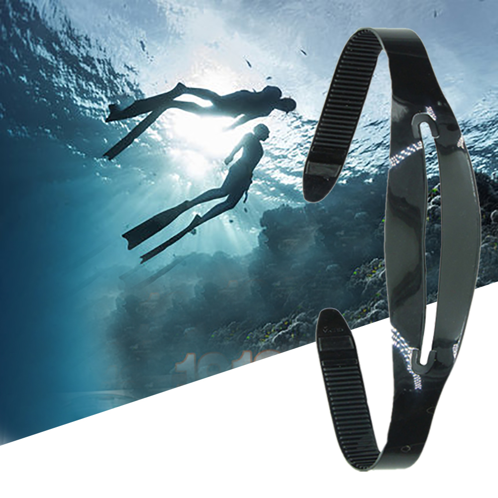 Adjustable Snorkeling High Elasticity Mask Strap Portable Water Sports Replacement Silicone Swimming Universal Diving Outdoor