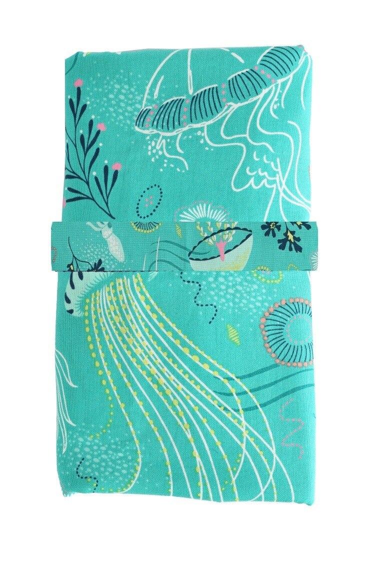 Детская Водонепроницаемая изолирующая кровать-wetting Pad удобный тип детская Пеленка-подкладка путешествия обмен пеленки напольный коврик можно мыть коврик пакет - Цвет: Зеленый