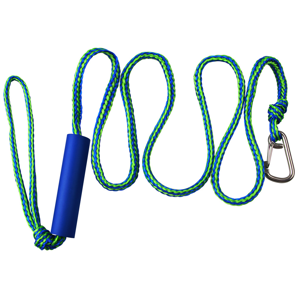 Top Boat Dock Ropes Heavy Duty Braided Line For Jet Ski, Watercraft Boat, Kayaking, Marine Dock Lines With Stainless Clip