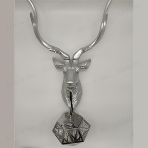 Image 3 - BDBQBL Vintage Creative LED Christmas Deer Antler Wall Lamp Deer Lamp Bedroom Buckhorn Kitchen Bar Decor Luminaire