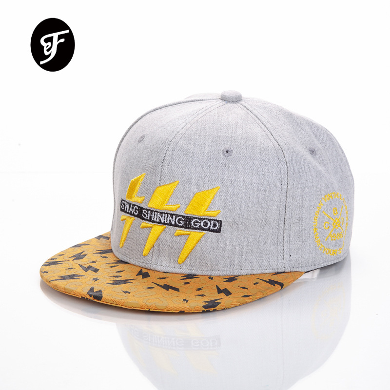 Lightning  Embroidered Baseball Caps For Man And Women Acrylic Snapback Caps Boy Girl Hip Hop Hat New