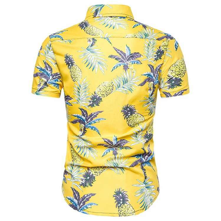 2019  AliExpress Summer New Products Men Casual Hawaii Set