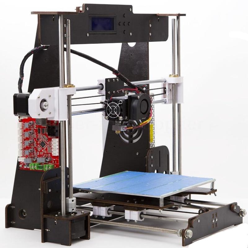 A8 W5 3D Drucker Reprap Prusa i3 DIY MK8 LCD drucker 3d Drucker Impressora Imprimante Lebenslauf Stromausfall Druck