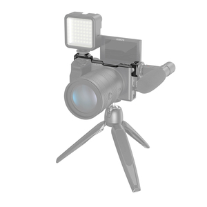 Image 5 - SmallRig נעל הר רילוקיישן צלחת עבור Sony a6600 מצלמה Vlog Rig עבור מיקרופון או פלאש אור לצרף 2498