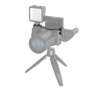 Image 5 - 소니 a6600 카메라 용 SmallRig Shoe Mount 재배치 플레이트 마이크 또는 플래시 라이트 용 Vlog Rig 2498 부착