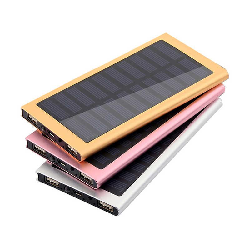 Housse de batterie portative bricolage boîte double USB Kit téléphone chargeur lampe de poche Powerbank Portable Pover batterie d'alimentation 1*7566121 solaire