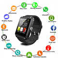 U8 חכם שעון גברים ספורט צמיד נשים Smartwatch כושר גשש אלקטרוניקה Bluetooth חכם לביש מכשיר שעון Smartwach