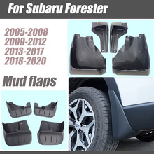 For Subaru Forester mudguard subaru fenders forester mud flaps splash guards car accessories auto styling 2005-2020