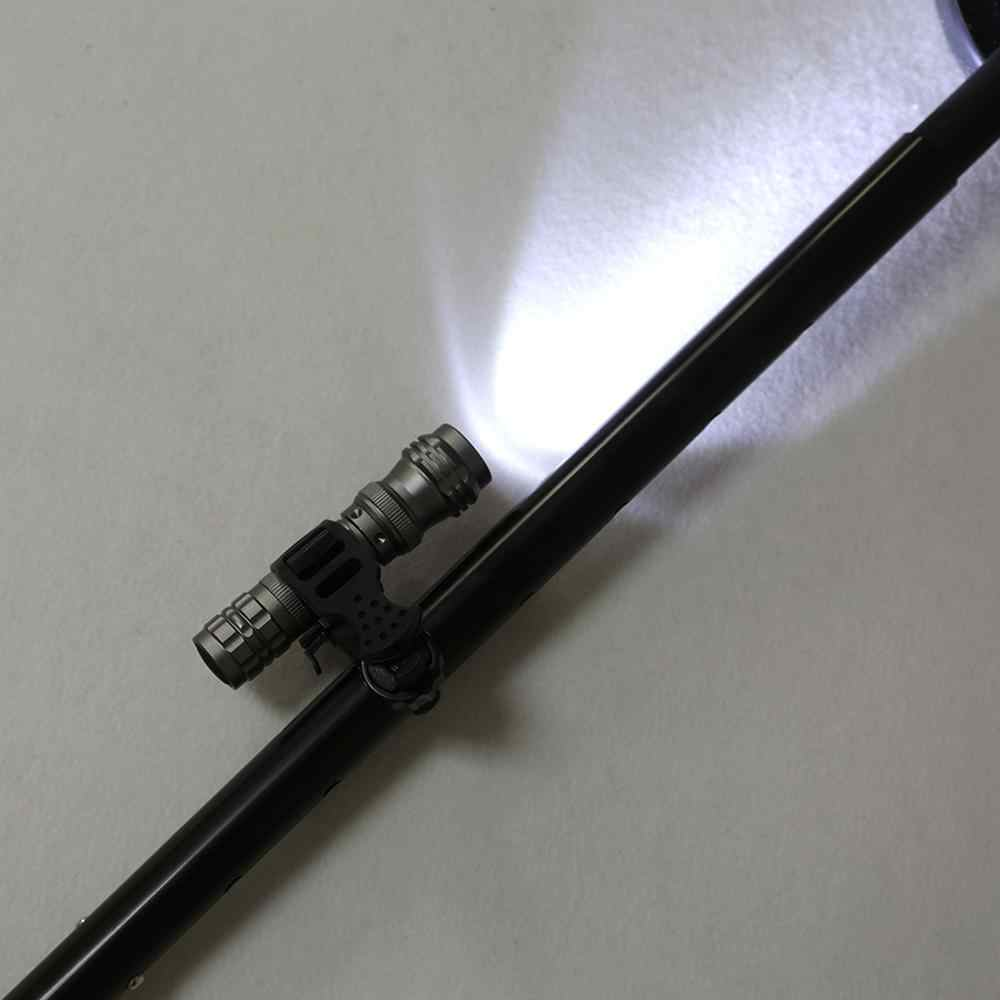 Détecteur de métaux porte lampe torche pour vélo broche pointeur support lampe de poche montage adapté à toutes sortes de détecteurs souterrains