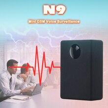 N9 GSM подслушивающее устройство в акустической сигнализации мини GSM шпионский монитор система голосового наблюдения четырехдиапазонная 2 микрофона 12-15 дней в режиме ожидания
