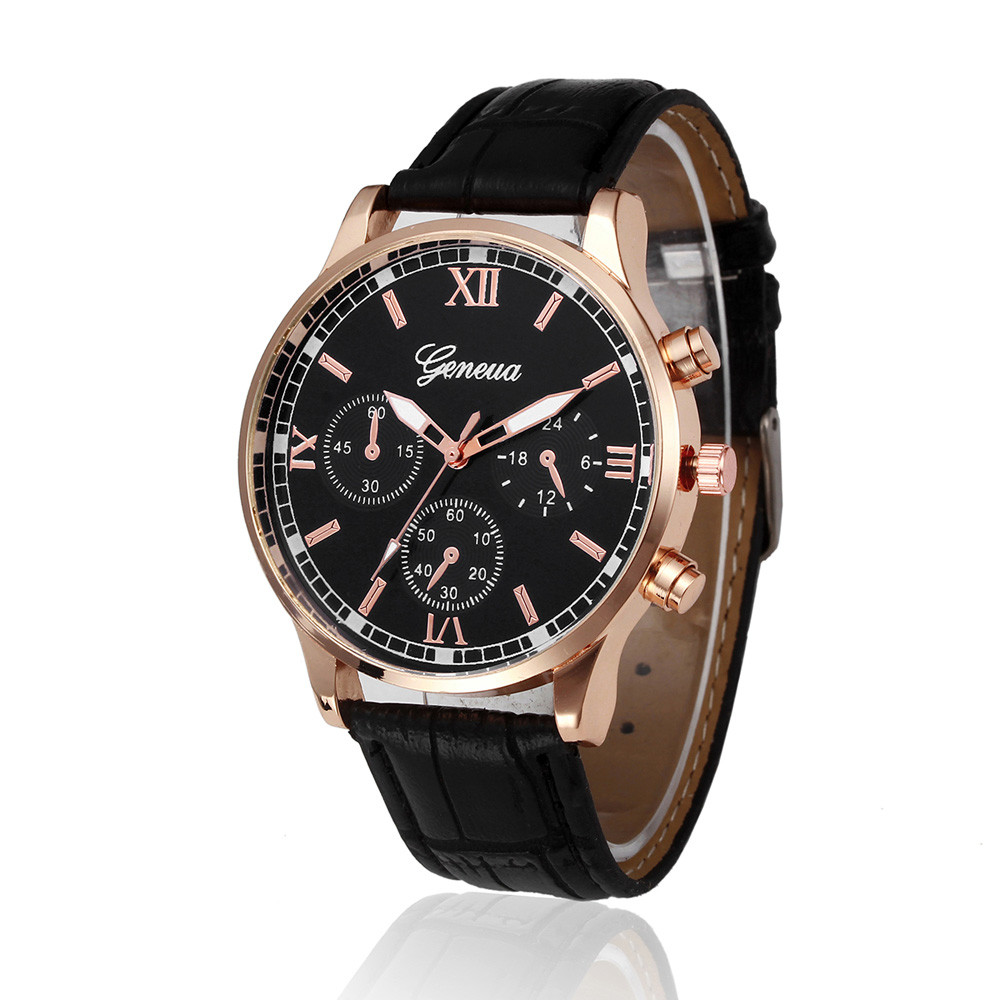 DUOBLA Watch Men Mens Watches Top Brand Luxury 2020 Wristwatch Quartz Watch Men Watch Leather Band Fashion Geneva Watches