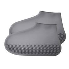 OCARDIAN непромокаемая обувь силиконовые простые дождевые Чехлы для обуви M непромокаемые походные противоскользящие непромокаемый чехол для обуви Overshoes Прямая поставка Новинка