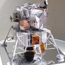Space Fine Apollo 13 Lunar Module DIY 3D Paper Card Model Building Sets Construction Handmade Toys Educational Toys Model