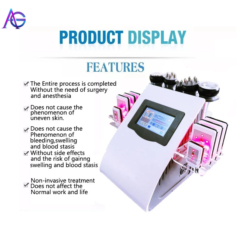 Portable Vacuum Cavitation Beauty Machine For Weight Loss Face Lift Skin Tightening