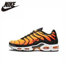 цена на Nike Air Max Plus Original New Arrival Men Running Shoes Comfortable Outdoor Sports Sneakers #BQ4629-001
