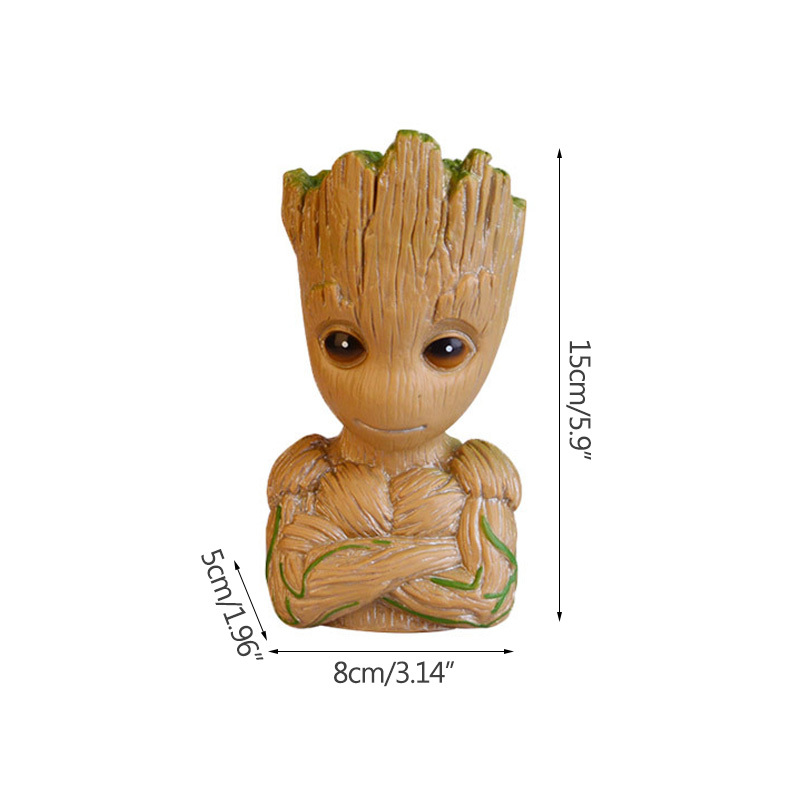 "MARVEL BABY GROOT BUST BANK 10/"" BRAND NEW GREAT GIFT MONEY BOX"
